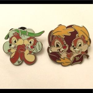❤️3 for $15❤️ Disney Chip & Dale Brooche Pins
